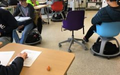 Pioneer tries out new classroom furniture
