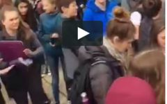 Video: Students walk out