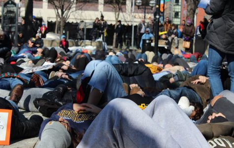 Slideshow: Students join 'die-in' for gun control