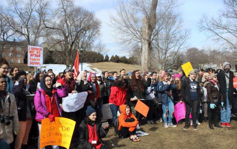 Pioneers walk out to join national school safety protest