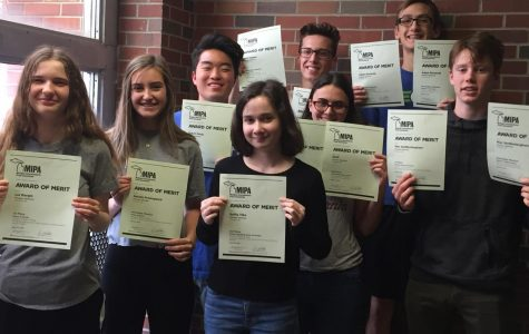 Pioneer newspaper, yearbook win state press association awards