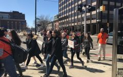 Slideshow: Students walk out to city hall