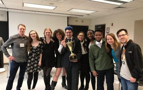 Pioneer team wins the Michigan Ethics Bowl competition