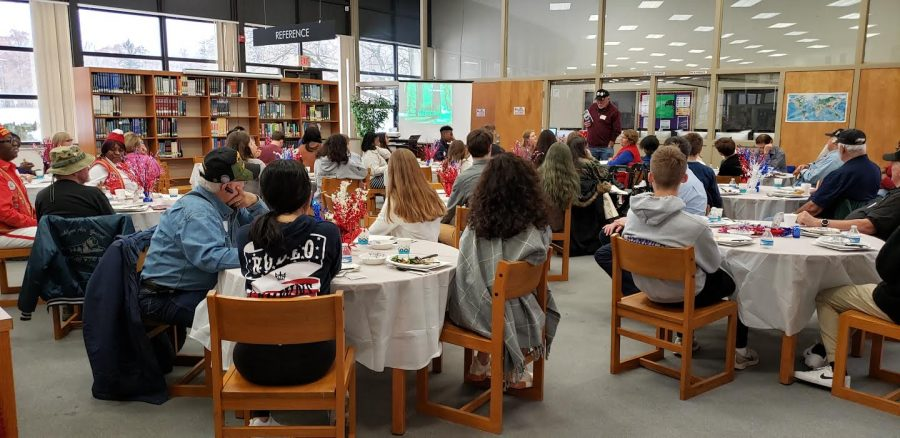 Veterans luncheon lets students learn about the sacrifice of serving