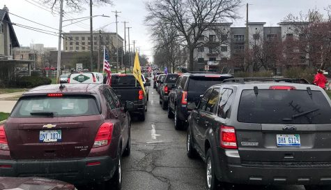 Michiganders protested Gov. Whitmers shutdown orders April 15 in Lansing by causing traffic gridlock.