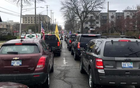 Michiganders protested Gov. Whitmer's shutdown orders April 15 in Lansing by causing traffic gridlock.