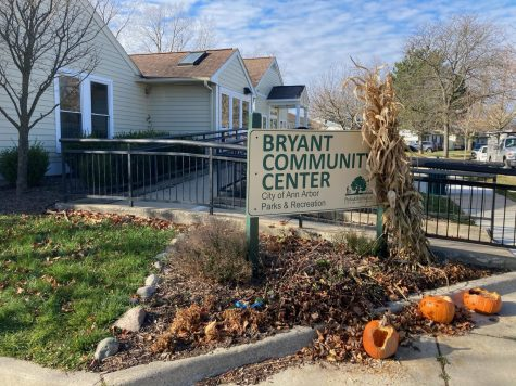Bryant Community Center has been serving as a food pantry for local residents.