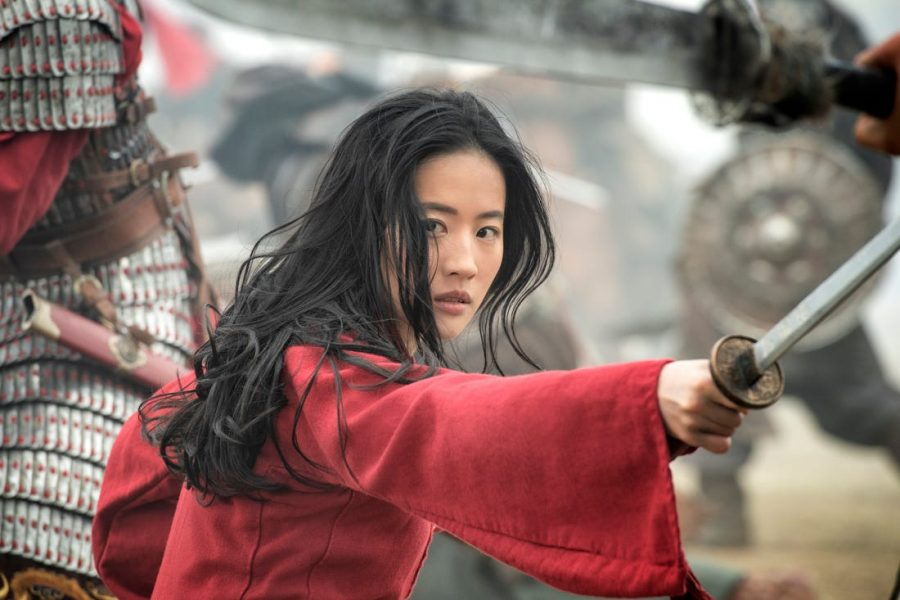 Liu+Yifei+who+starred+as+Mulan+was+heavily+criticized+for+supporting+the+Hong+Kong+police.+%28Image+courtesy+of+Disney%29