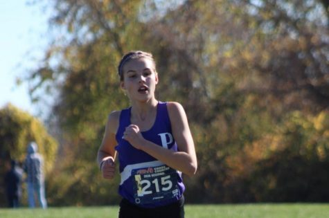 In just her first high school season, Forsyth has won multiple meets and conferences.