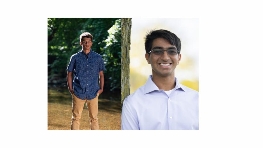 Seniors Arnav Brahmasandra and Joseph Alphonso helped organize the Pioneer Student Council tutoring program.