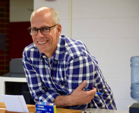 Don Packard, the head of the Pioneer English Department.