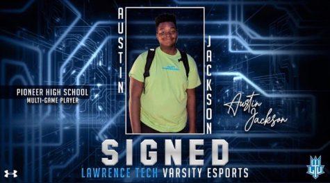Pioneer Senior Austin Jackson Receives Esports Scholarship