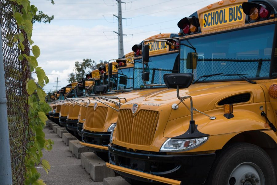 Changes in bus routes and child care services have left families upset about the districts decisions.