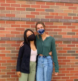 Alysa Zhu (left) and Josie Hodges (right) are the two juniors running Pihi.info this year.