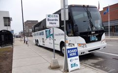 D2A2 commuter express buses resumed service after a pandemic-prompted hiatus. Photo courtesy of MLive/The Ann Arbor News.